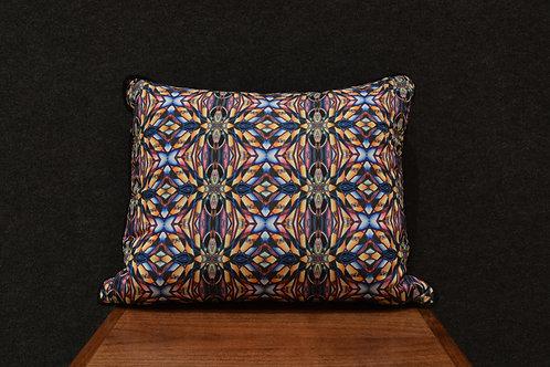 """Kabuki Tinker"" Art Pillow by Libby Chadd"