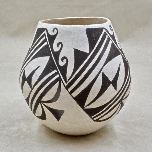 Acoma Vase by Mildred Antonio, 1972