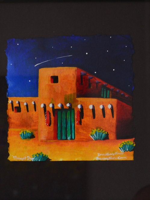 Pueblo Scene 2 by David Gary Suazo