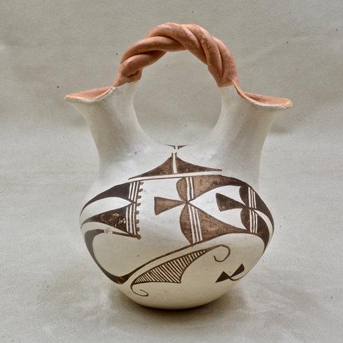 Acoma Wedding Vase by Lita Garcia