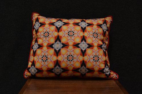 """Evolution"" Art Pillow by Libby Chadd"