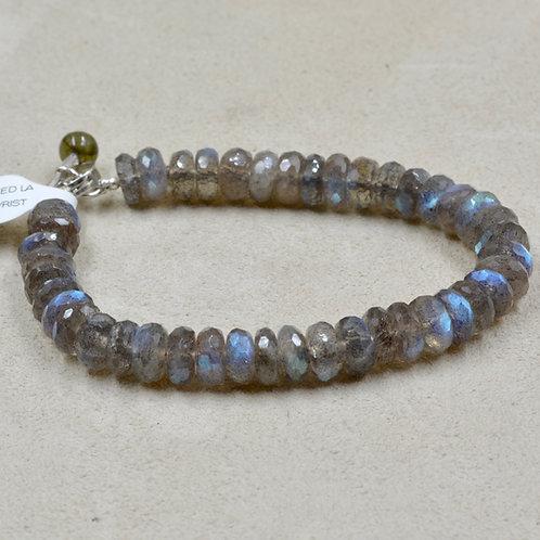 Faceted Labradorite Bracelet by Reba Engel