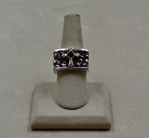Ladies' Sterling Silver Queens' 7.75x Ring by JL McKinney