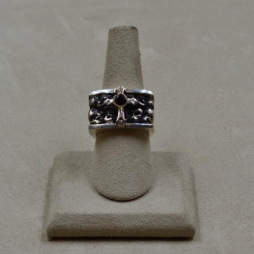 Ladies' Sterling Silver Queens' 7.75x Ring by JL McKinney