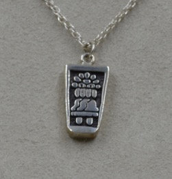 Sterling Silver Prayer/Prayer Answered Pendant on SS Chain by Lente