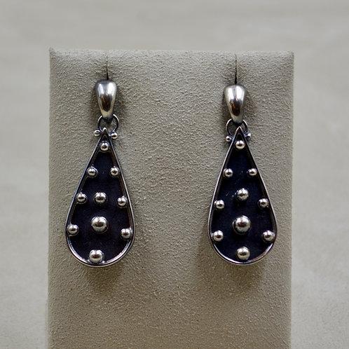 Argentinian Silver Earrings w/ Shot by Michele McMillan