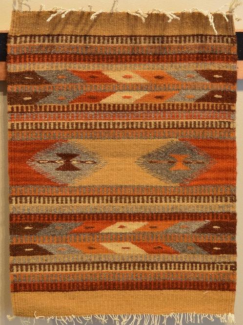 "Set of 4 Zapotec 15"" X 20"" Placemat Weavings"