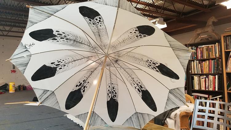 Patricia Michaels - Hand Painted Parasol/Umbrella Workshop