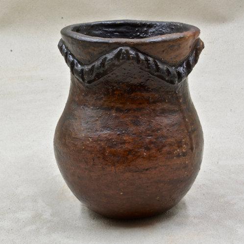 Navajo Vase by Fay Tso, 1977