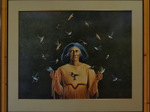 """""""Reunion"""" by Frank Howell Serigraph Print"""