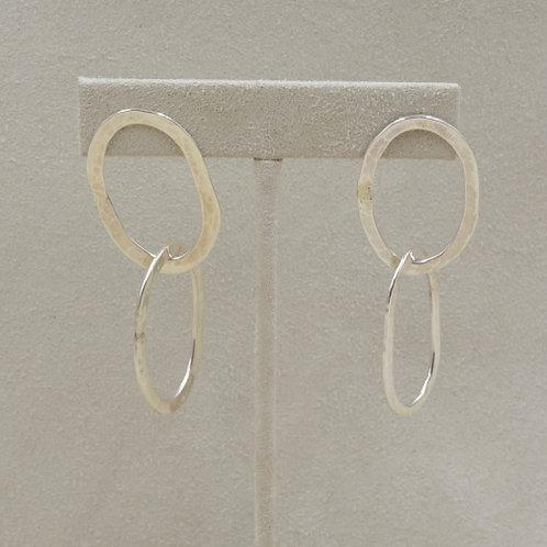 Double Lite Link Earrings by Richard Lindsay