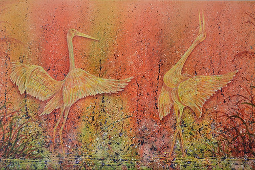 """Joyous Dance"" Giclee by Ken Bonner"