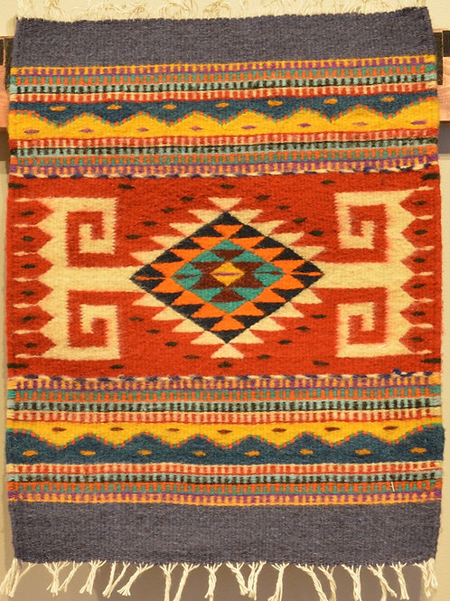 "Set of 4 Zapotec Placemats - 16"" X 20.5"""