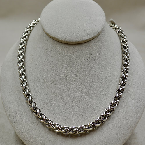 8mm Wheat Sterling Silver Chain by JL McKinney