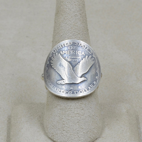 Eagle Quarter Ring by Maggie Moser