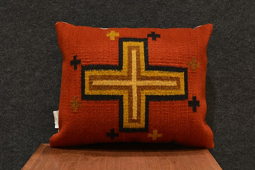 """Set of 2 Four Directions Zapotec Pillows - 15"""" X 20"""""""