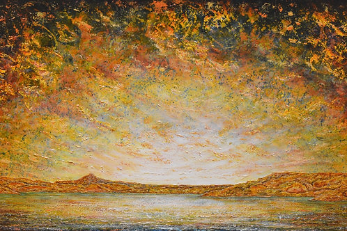"""Land of Enchantment 1"" - 36"" X 60"" - by Ken Bonner"