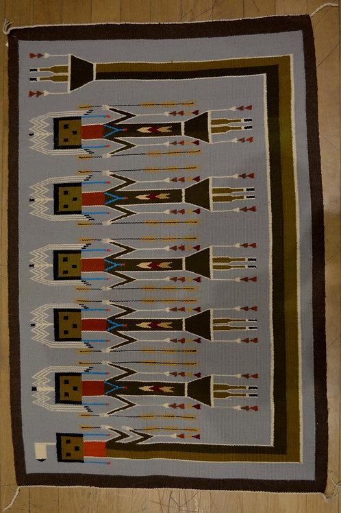 "Navajo Weaving - 48"" x 33"""