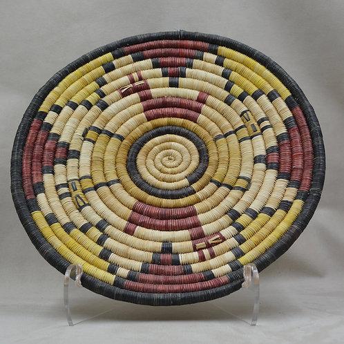 "Hopi Pueblo Plaque #29 // 11 1/2"" Dia"