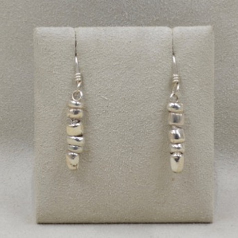 Stone Roc Dangle Earrings by Richard Lindsay