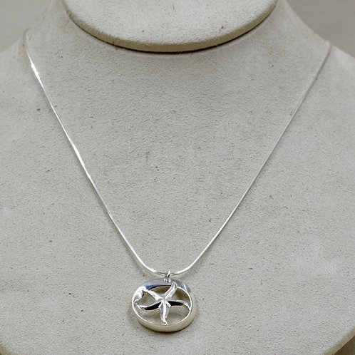 Sterling Silver Infinite Star of the Sea on SS Chain by Charles Sherman
