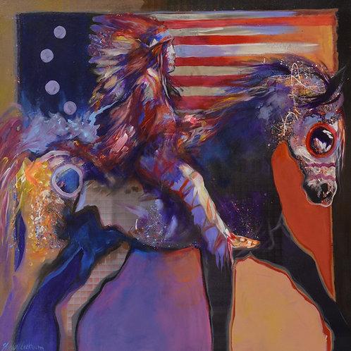 """Boom Mah Gah Ma Dah-Horse"" by Farrell Cockrum"