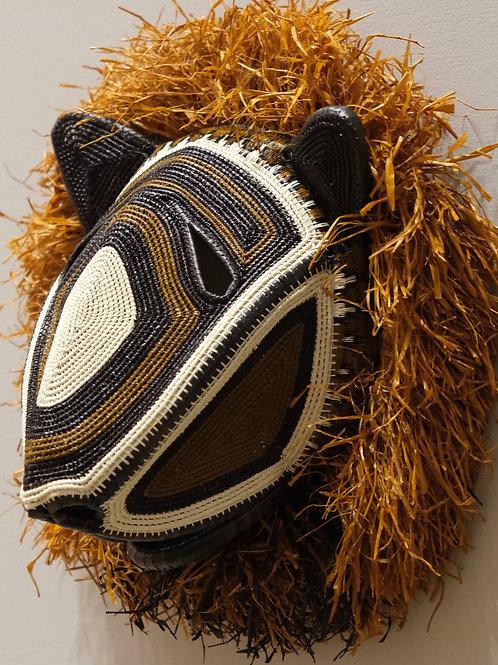 Lion Emberá Mask