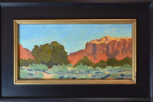 """""""Lone Tree at Ghost Ranch"""" by Donal O'Toole"""