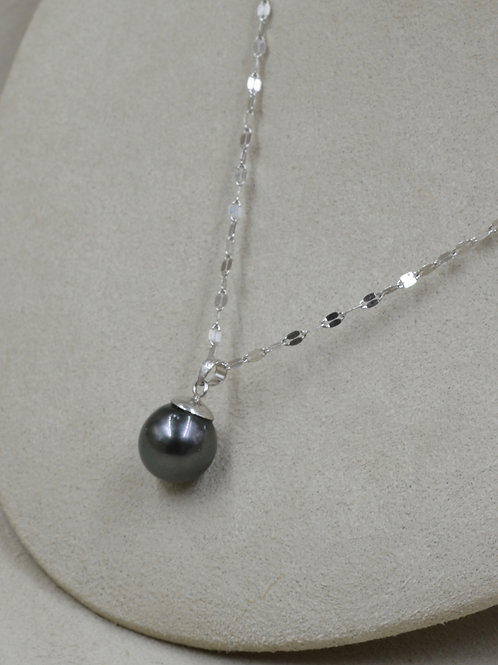 Cultured S. Sea Pearl Tahitian, 11-12mm Necklace by US Pearl Co.