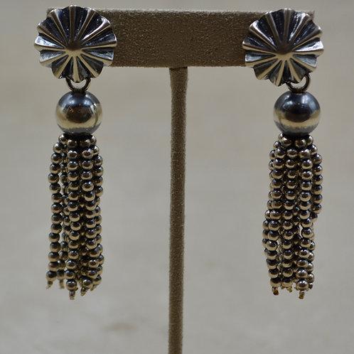 Concho Top Post Sterling Silver earrings by Shoofly 505