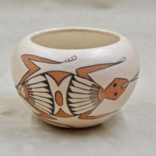 Acoma Vase by Lillian Salvador, 1976