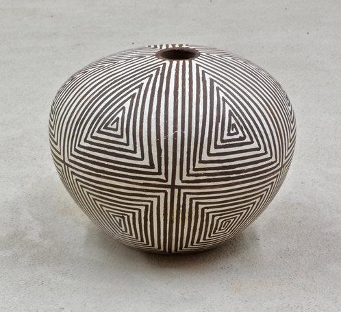 Acoma Seed Pot by Joyce C., 1978
