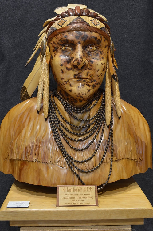 """Chief Joseph"" by Larry Lefner"