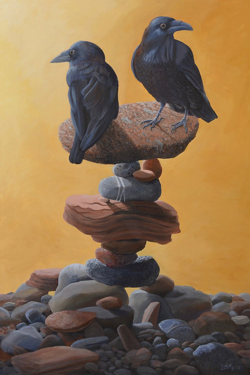 """Balancing Act"" by Liza Myers"