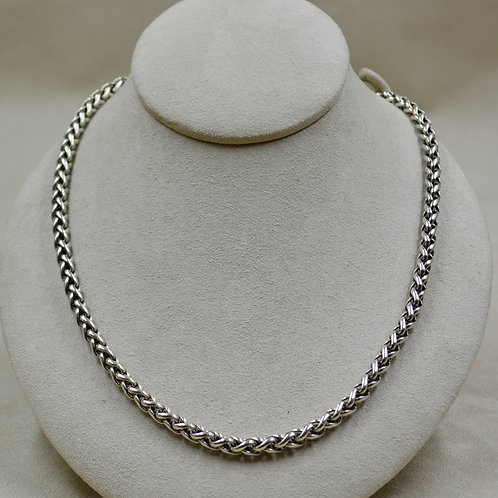 Sterling Silver 6mm Armor Chain w/ Toggles by JL McKinney