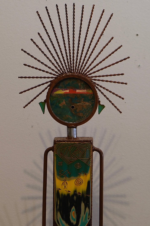 """Prosperity"" Sculpture - 64"" x 12"" x 11"" by Chris Turri"