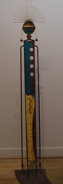 """""""Fourth Dimension"""" Sculpture - 70"""" x 15"""" x 11"""" by Chris Turri"""
