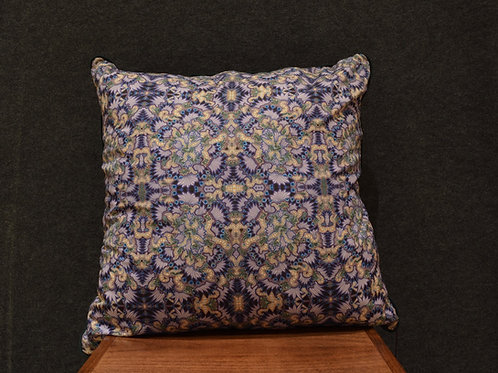 """""""Technicolor Thrush 24"""" Large Art Pillow by Libby Chadd"""