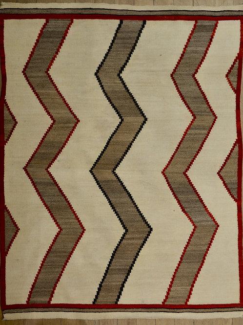 "Crystal Navajo Weaving - 52"" x 42"""