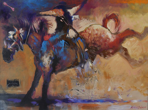 """""""Bronco Rider"""" by Farrell Cockrum"""