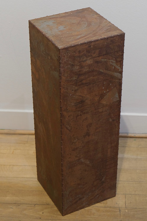 "Tall Medal 30"" x 10"" x 10"" Pedestal by Chris Turri"