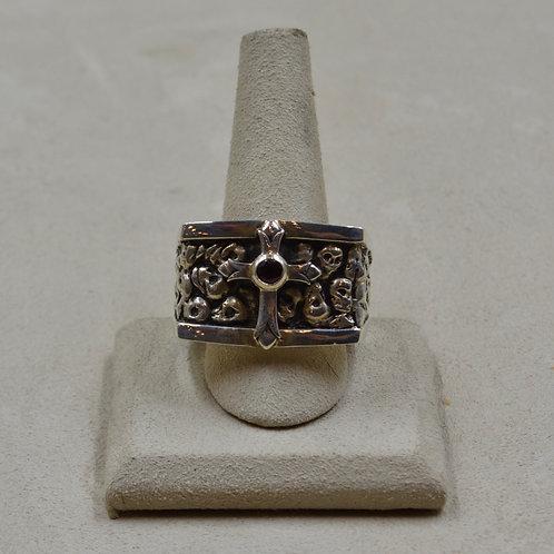 Men's King's Sterling Silver 15x Ring by JL McKinney