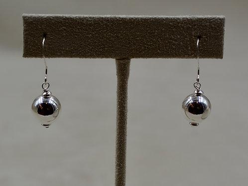 Short Sterling Silver Dangle Earrings by Sippecan Designs