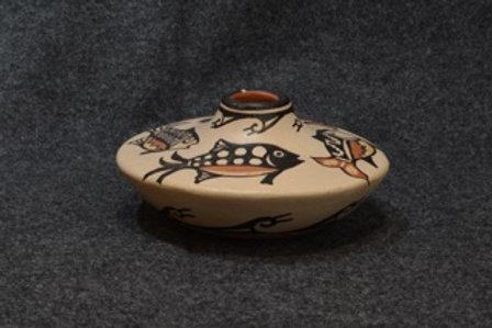 Fish Pot by Robert Tenorio, Santo Domingo Pueblo