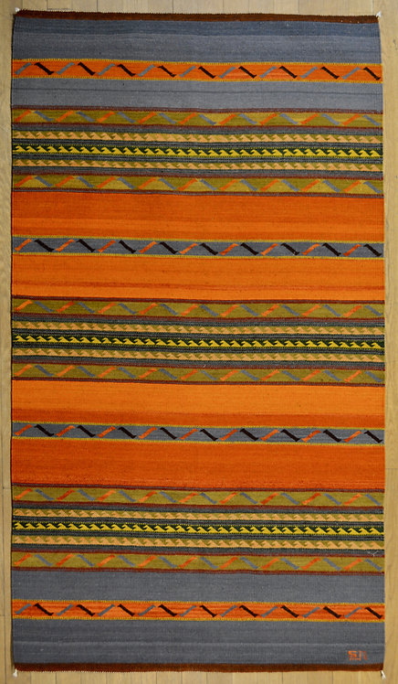 Sunset Large 4' x 6' Rug by Sergio Martinez - Zapotec