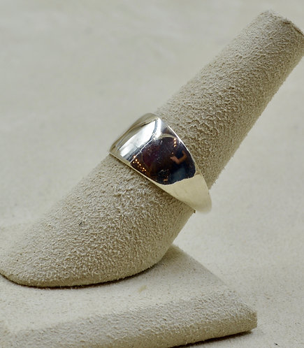 Sterling Silver 6x Infinity Ring by Charles Sherman