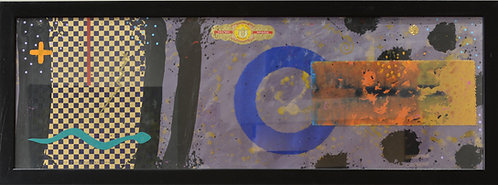 """""""The Timekeepers Moon with Serpent"""" by Doug Coffin, Potawatomi"""