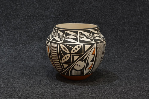 Black, White and Red by Debbie Brown - Acoma Pueblo