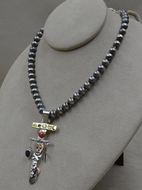 8mm Sterling Silver Beads by Richard Lindsay