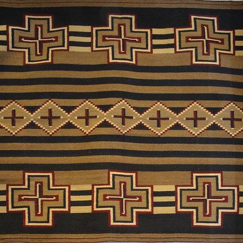 "Zapotec Chief Blanket - 72"" X 64"""